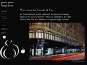 screenshot http://www.casaleandco.com communication de luxe à paris, new-york, londres