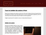 screenshot http://www.casaluca.fr trattoria paris: la casa luca, une tratoria de luxe