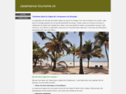 screenshot http://casamance-tourisme.sn office de tourisme de casamance