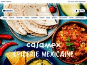 screenshot http://www.casamex.fr casamex - epicerie mexicaine en ligne