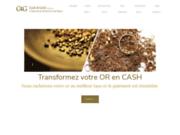 screenshot http://www.cashvsgold.com achat de votre or et bijoux en argent cash
