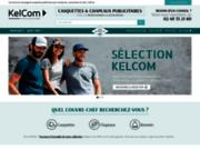 screenshot http://www.casquette-publicitaire-pro.com casquettes publicitaires pour professionnels