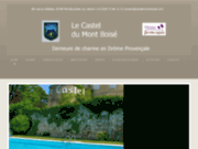 screenshot http://www.castel-montboise.com Restaurant à Montélimar.