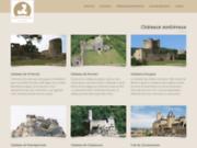 screenshot http://www.castlemaniac.com/ chateaux du moyen age
