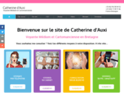 screenshot http://www.catherinedauxi.com voyante bretagne