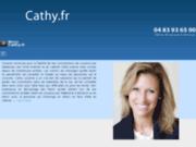 screenshot http://www.cathy.fr Cathy voyante