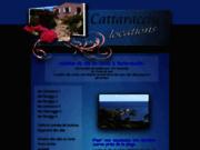 screenshot http://www.cattaracciu.com location corse porto-vecchio