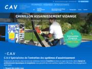 screenshot http://www.cavaillon-assainissement-vidange.com/ Cavaillon Assainissement Vidange