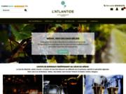 screenshot http://www.cave-atlantide.com Vins de Bordeaux