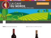 screenshot http://www.cave-du-moros.com la cave du moros
