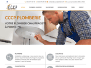 screenshot http://www.cccp-plomberie-chauffage.com/ plomberie poissy orgeval