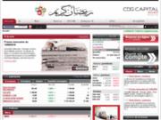 CDG Capital Bourse : Bourse en ligne, marché actions de Casablanca - Maroc