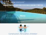 screenshot http://www.cds-piscinesetjardins.com rénovation de piscine