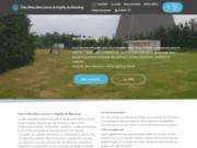 screenshot http://www.cecam.info club d'éducation canine et d'agility de mastaing