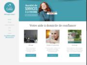 screenshot https://cekaservices.fr Services à domicile