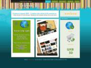 screenshot http://www.celinem.com création site internet à bordeaux