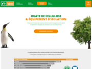 screenshot http://www.cellulose-igloo.com Ouate de cellulose