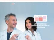 screenshot http://www.cemif.fr centre d'esthétique médicale d'ile de france