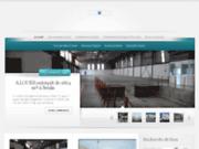 screenshot http://centrale-industrie.com bureaux à la location