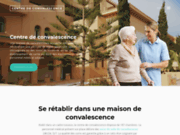screenshot http://www.centre-convalescence.fr/ centre de convalescence