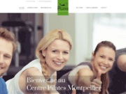 screenshot http://www.centre-pilates-montpellier.fr/ pilates montpellier