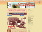 screenshot http://www.centrecultureldupaysdorthe.com/ centre culturel du pays d'orthe