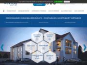 screenshot http://www.century21-immobilier-neuf-doubs-jura.fr L'agence Avenir Immobilier
