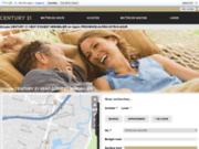 screenshot http://www.century21esterel.com immobilier la napoule