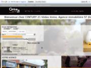 screenshot http://www.century21vedasimmo.com agence immobiliere saint jean de vedas