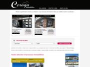 screenshot http://www.ceraga-immobilier.com agence ceraga immobilier