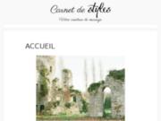 Cerise sur l'Anneau wedding planner et designer paris