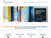 screenshot http://www.cg-graphisme.fr communication à rouen