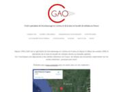 screenshot http://www.cgao24.com matériel d'élevage innovant:enrubanneuse en continu, aplatisseur, remorque autochargeuse