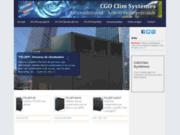 screenshot http://www.cgoclim.com climatisation