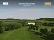 screenshot http://www.chailly.com/ hôtel golf du château de chailly