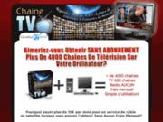 Sur tv! regarder tv sur pc avec 4000 chaînes Tv sur Pc