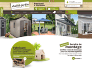 screenshot http://www.chalet-jardin.com abri jardin