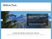 Chalet des Monts, hébergement collectif à la montagne