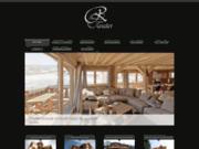 screenshot http://www.chaletsclaudet.com chalet maison ossature bois doubs jura savoie