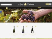 screenshot http://www.champagne-andre-delaunois.fr/ champagne andre delaunois