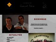 screenshot http://www.champagne-grasset-stern.fr les vins de champagne et la maison grasset-stern.