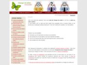screenshot http://www.changer-de-metier.com/ bilan de compétences