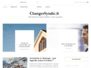 screenshot http://www.changersyndic.fr/ Changer de syndic
