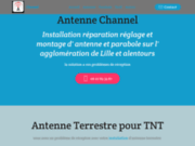 screenshot http://channel-antenne.com/ réparation de vos antennes