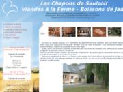 screenshot http://www.chapons-saulzoir.com les chapons de saulzoir : produits de la ferme, produits du terroir