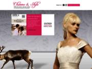 screenshot http://www.charme-et-style.fr robe de mariage