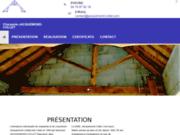 screenshot http://www.charpente-jacquemond-collet-38.com charpentier la tour du pin 38
