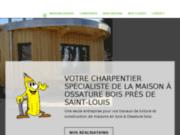 Entreprise de charpente et constructeur de maison à ossature bois près de Saint-Louis
