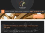 screenshot http://www.charpentesdaujourdhui.fr charpentes bois et couvertures bois toulouse - maisons ossature bois toulouse - charpentes d'ajourd'hui à colomiers