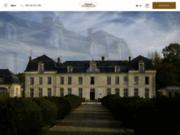 screenshot http://www.chateau-de-courcelles.fr/ château